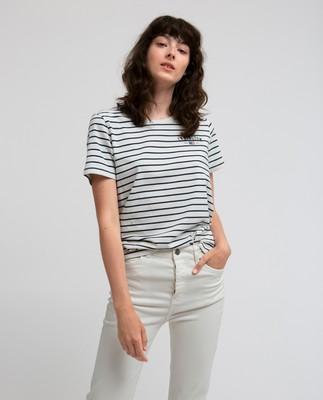 Rachel Tee, Blue/White