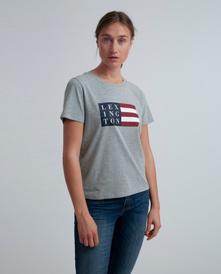 Rachel Tee, Light Warm Gray