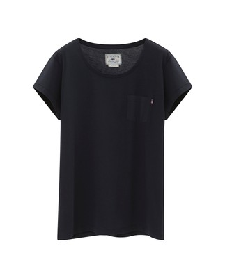 Ashley Jersey Tee, Deep Marine Blue