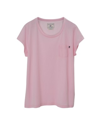 Ashley Jersey Tee, Rose Shadow