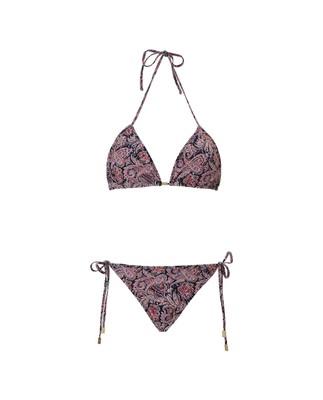 Stephanie Bikini Top, Paisley Print