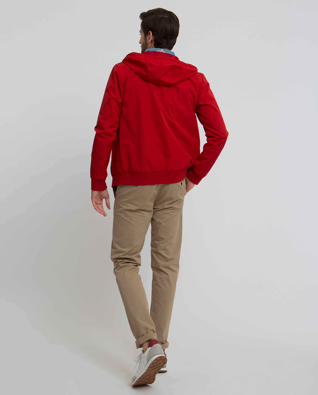 Harvey Jacket, Pompeian Red