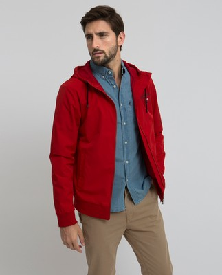 Harvey Jacket, Pompeian Red