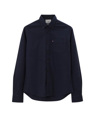 Kyle Oxford Shirt, Navy Blue