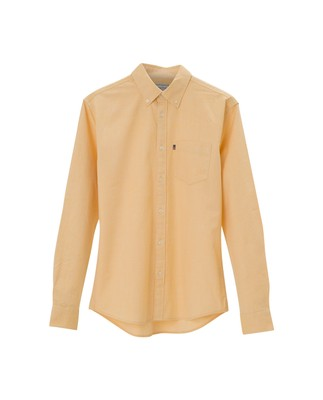 Kyle Oxford Shirt, Yellow