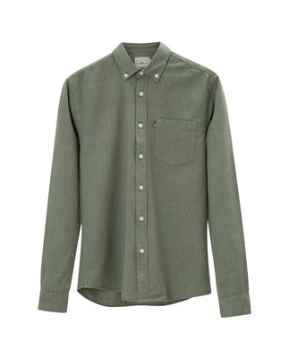 Peter Lt Flannel Shirt, Green