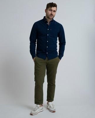 Clive Twill Shirt, Dot print