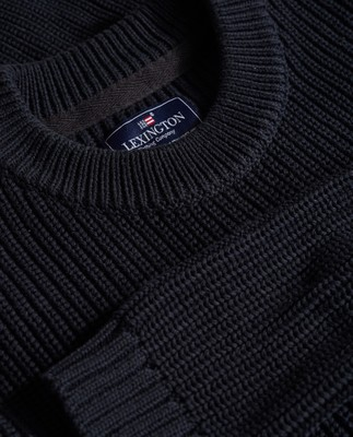 Herman Sweater, Deep Marine Blue
