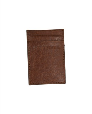 Hobson Leather Cardholder, Cognac