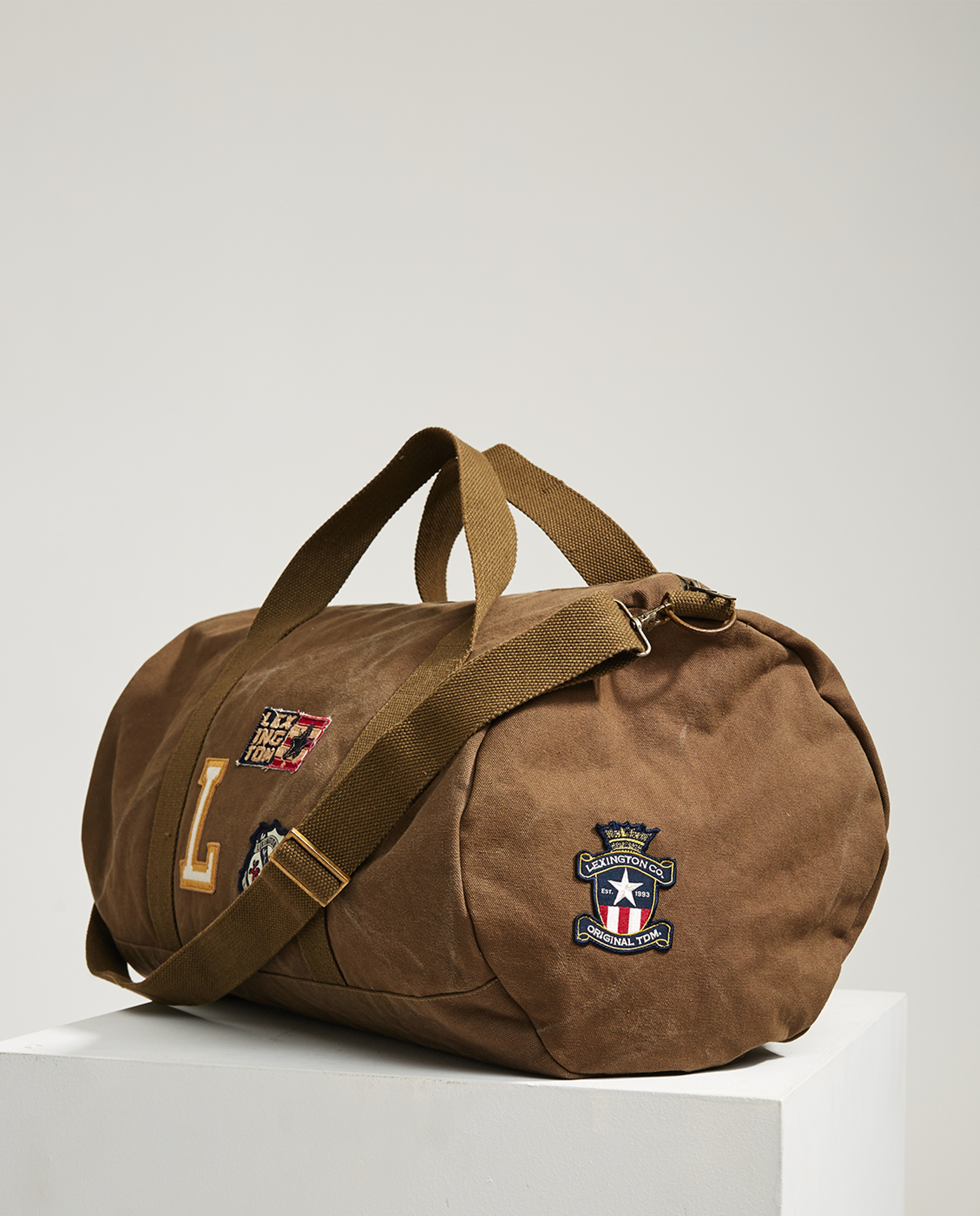 Davenport Gymbag with badges, Beech Green