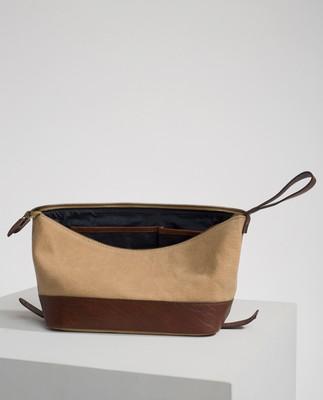 Dover Toilet Bag, Beige