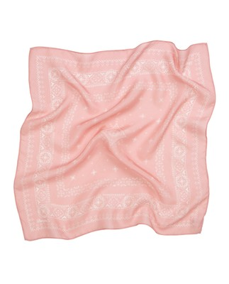 Austin Silk Bandana, Mellow Rose