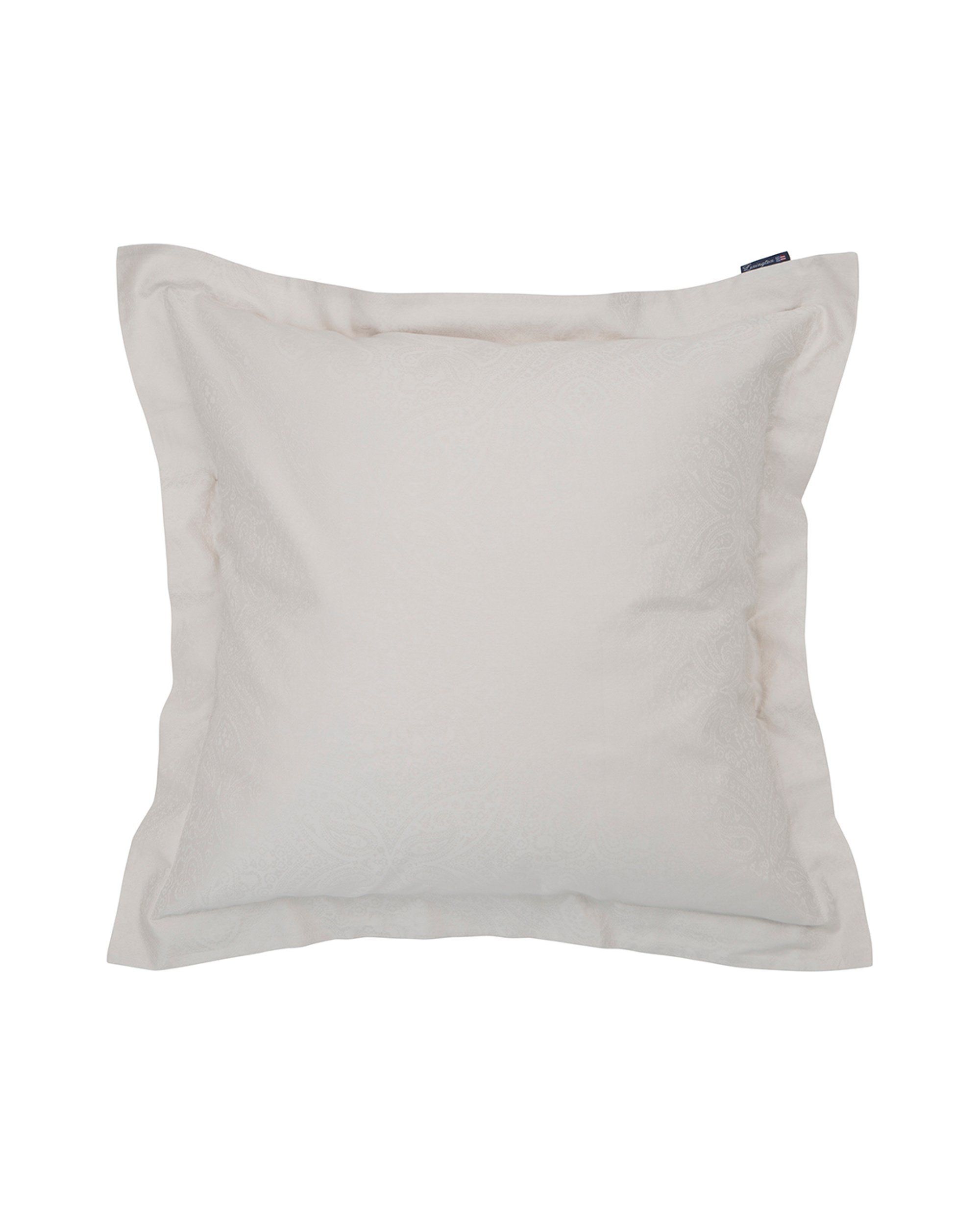 Hotel Sateen Jacquard Lt Beige Pillowcase