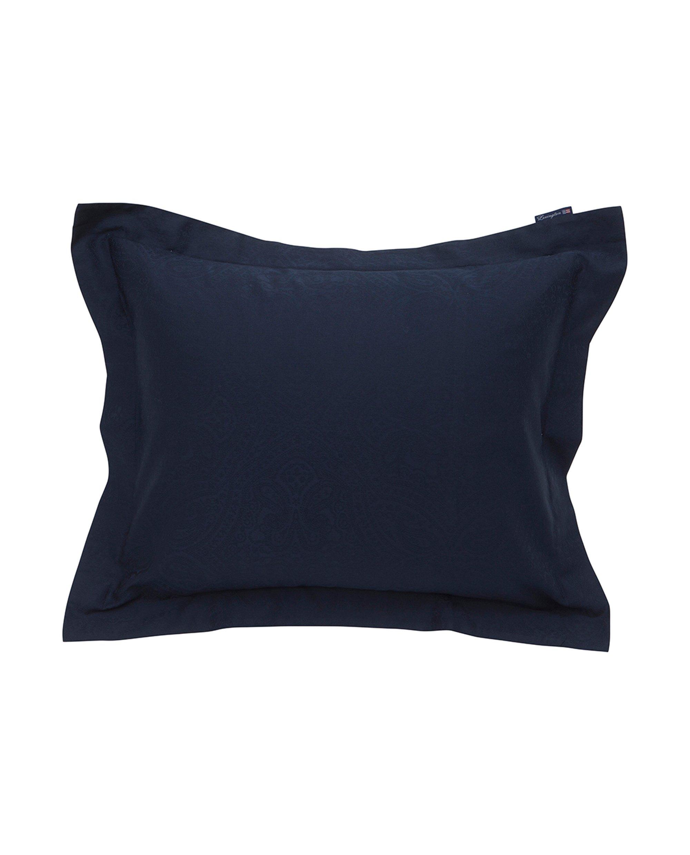 Hotel Sateen Jacquard Blue Pillowcase