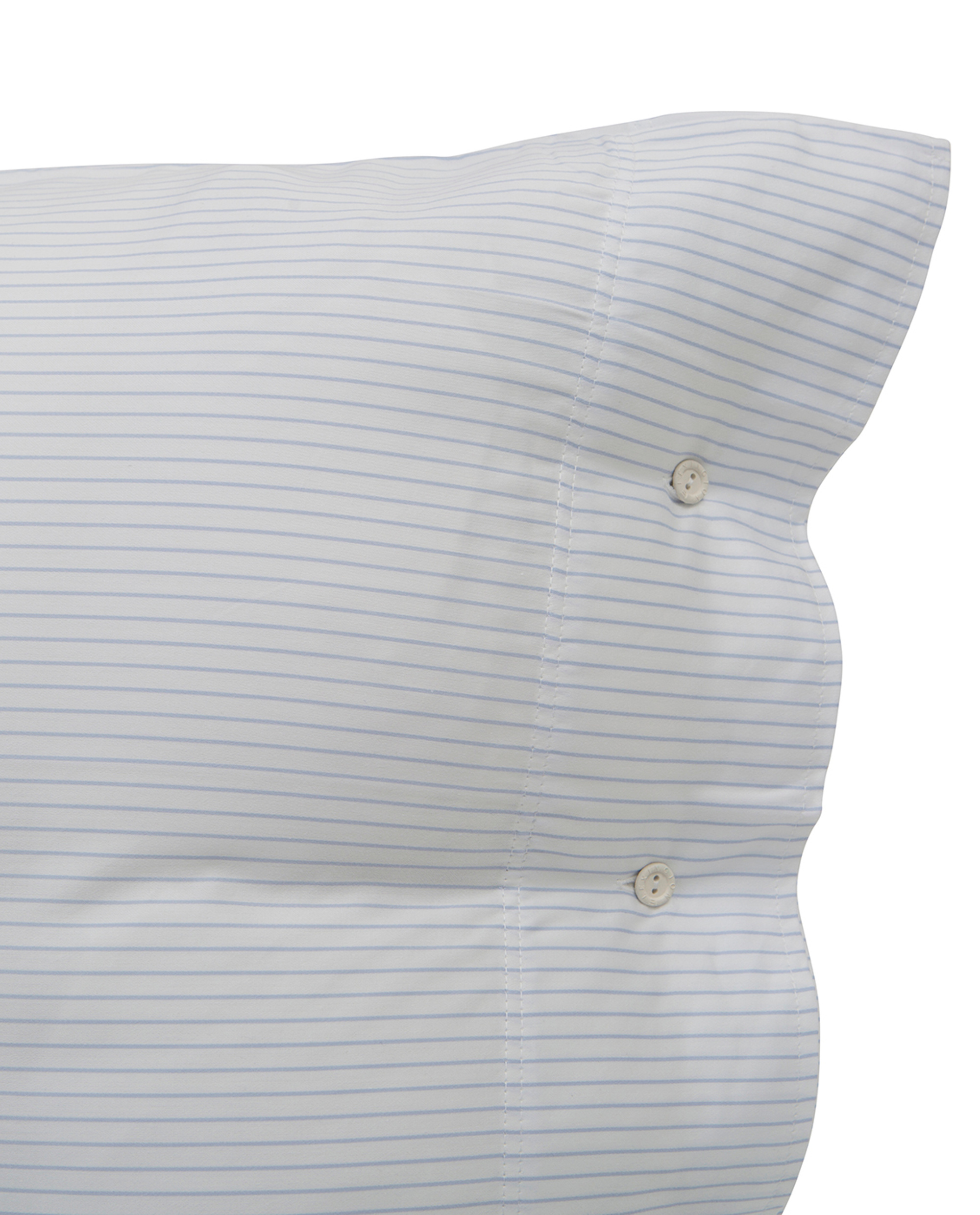 Hotel Tencel Stripe White/Blue Pillowcase
