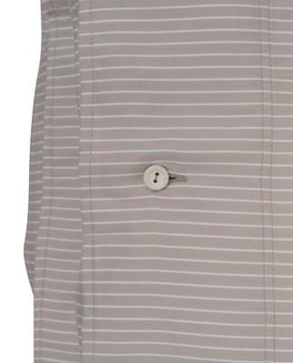Hotel Tencel Stripe Lt Beige/White Duvet
