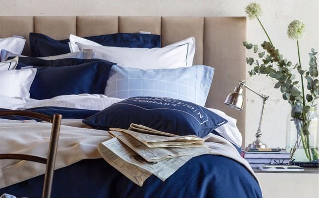 Hotel Light Flannel Lt Blue/White Duvet