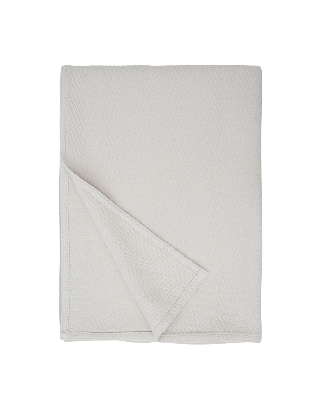 Hotel Herringbone Bedspread, beige