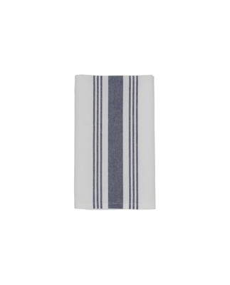Hotel Striped Napkin, White/Blue