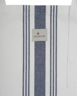 Hotel Apron High, White/Blue