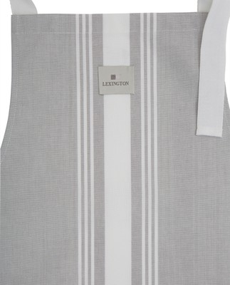 Hotel Apron High, Gray/White