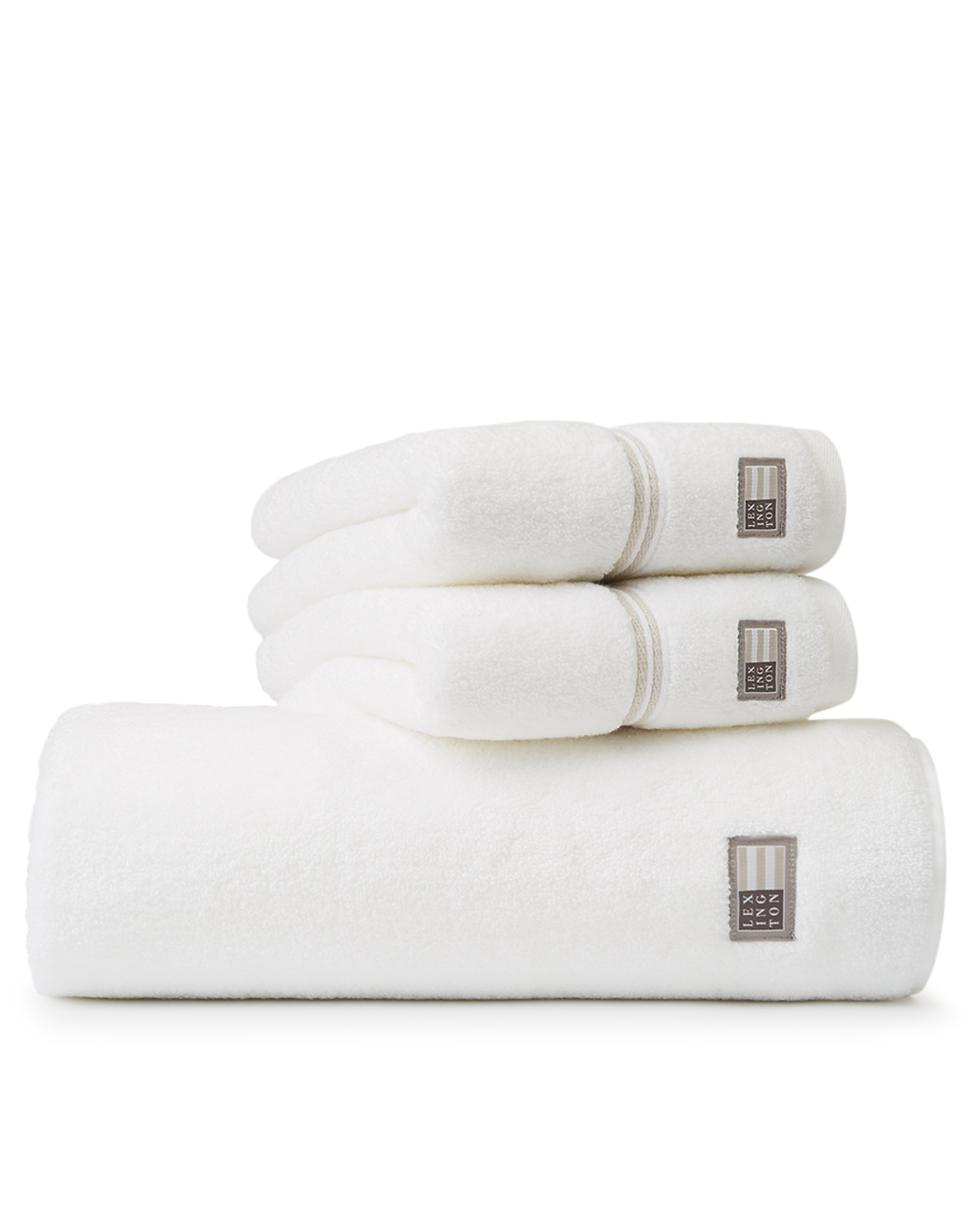Lexington Hotel Towel White/Beige