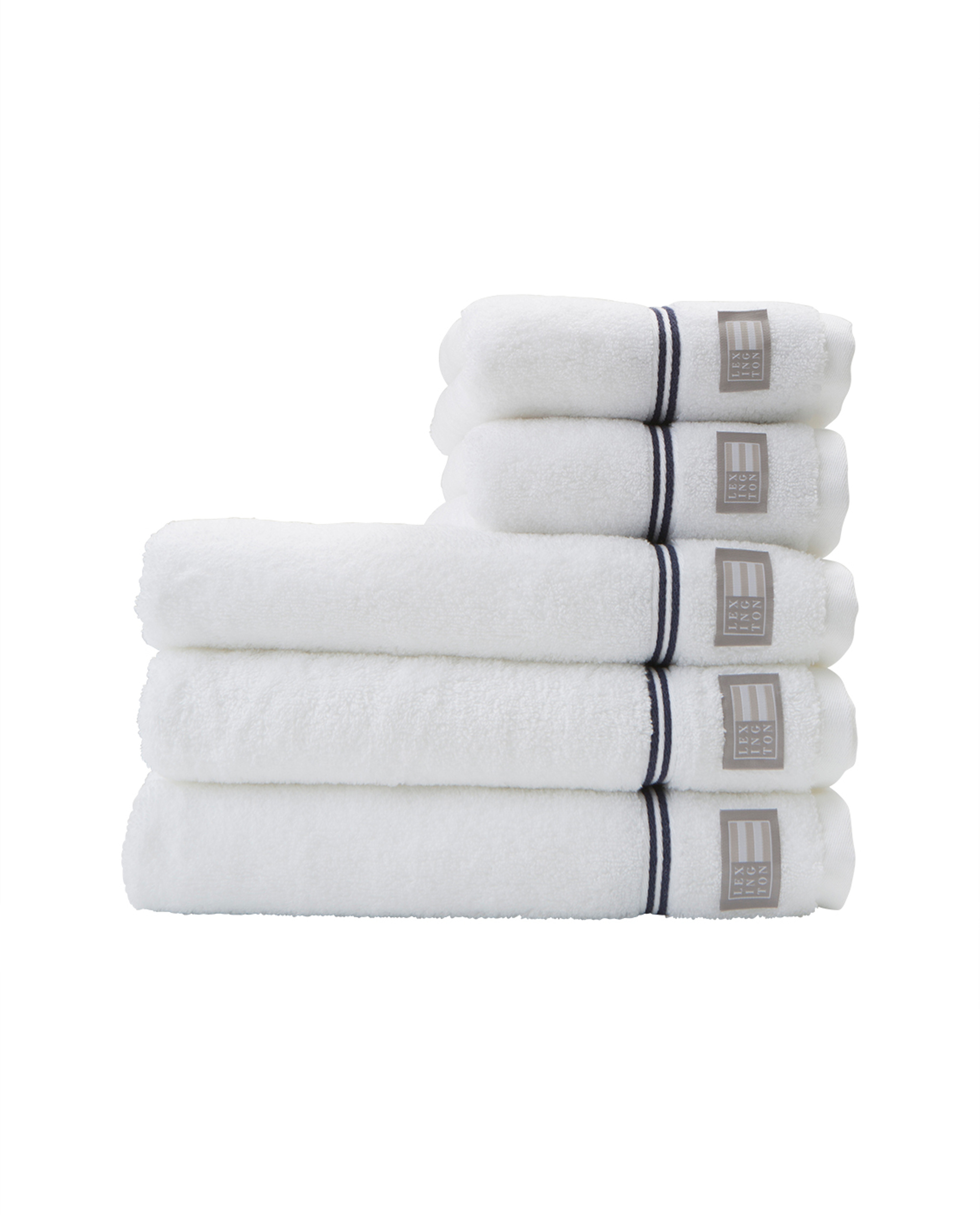 6e75ddf5 Lexington Hotel Towel White/Blue