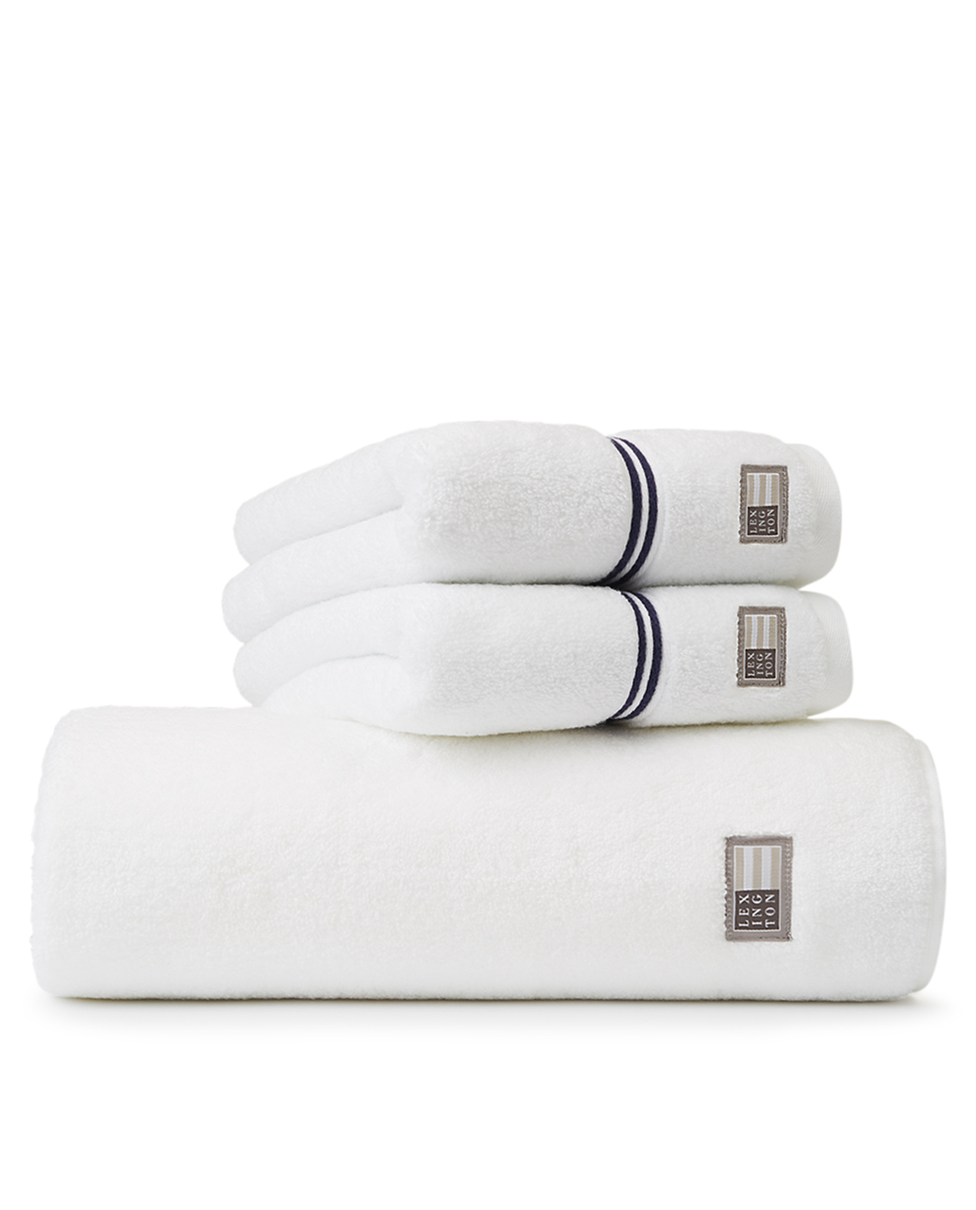 Lexington Hotel Towel White/Blue