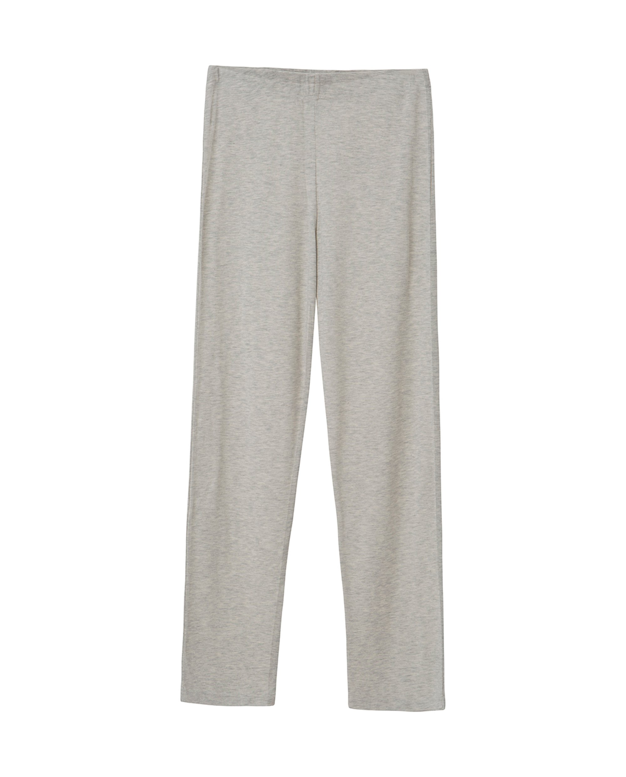 Alice Jersey Pajama, Light Gray