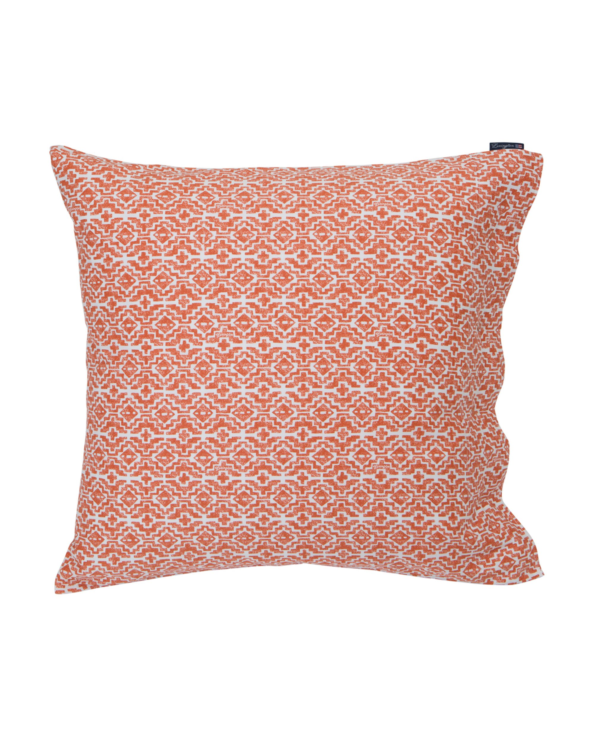 Apricot Printed Sateen Pillowcase