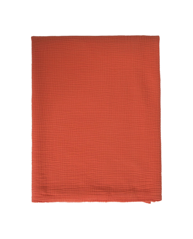 Cotton Bedspread, Apricot