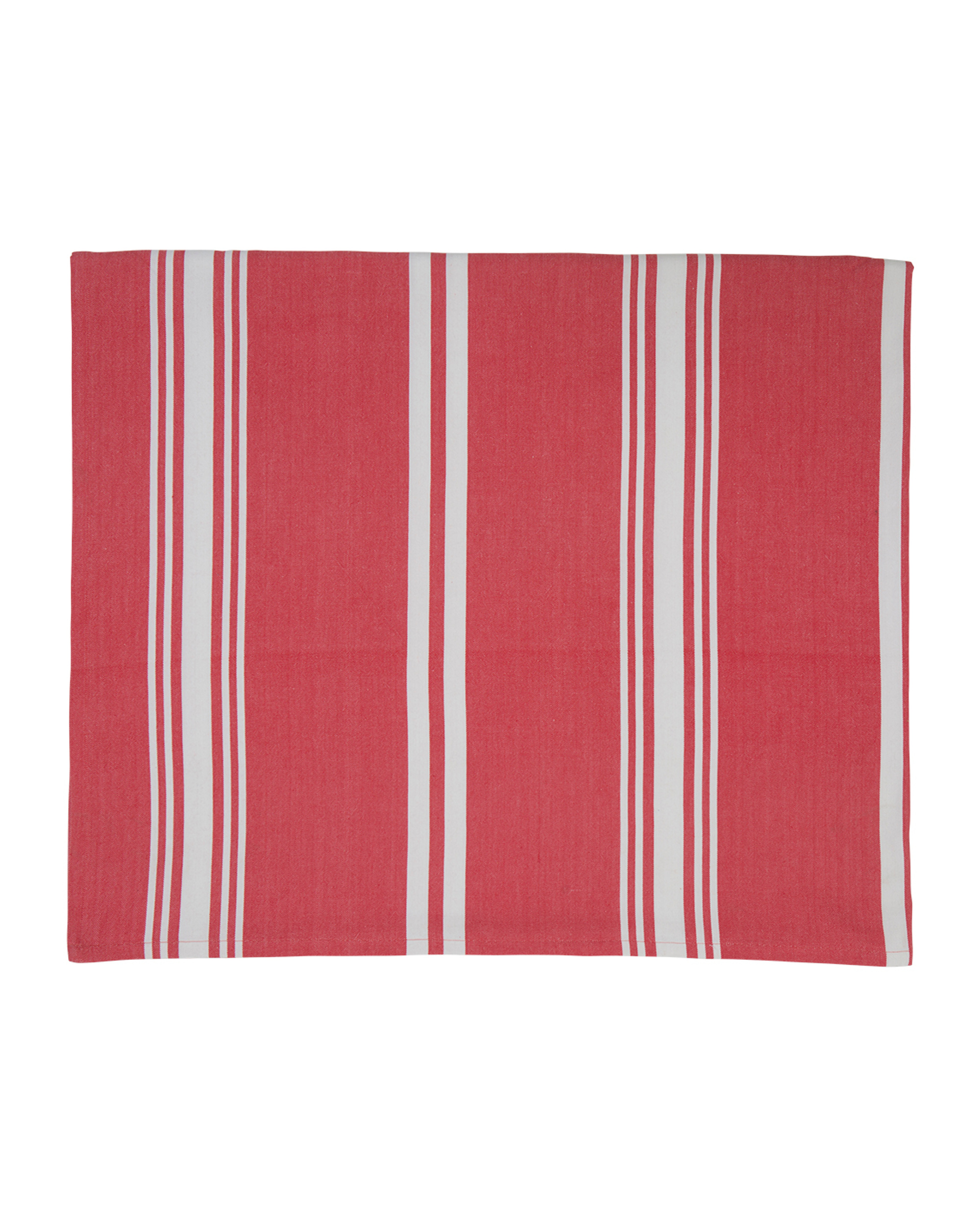 Striped Tablecloth, Red/White