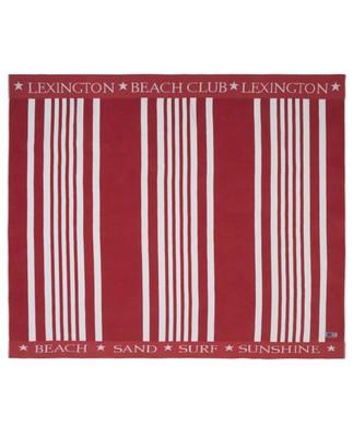 Family Beach Towel, Red/White 200x180