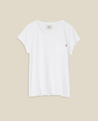 Ashley Jersey Tee, Bright White