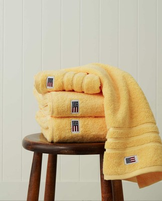 Original Hand Towel Yellow Sun