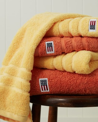 Original Bath Towel Yellow Sun