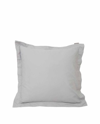 Hotel Sateen Jacquard Gray Pillowcase, Gray