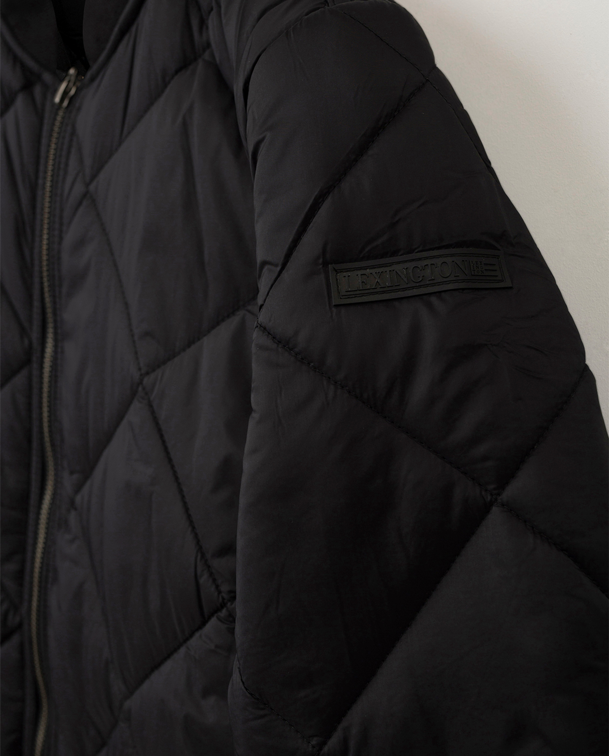Livia Quilted Jacket, Black