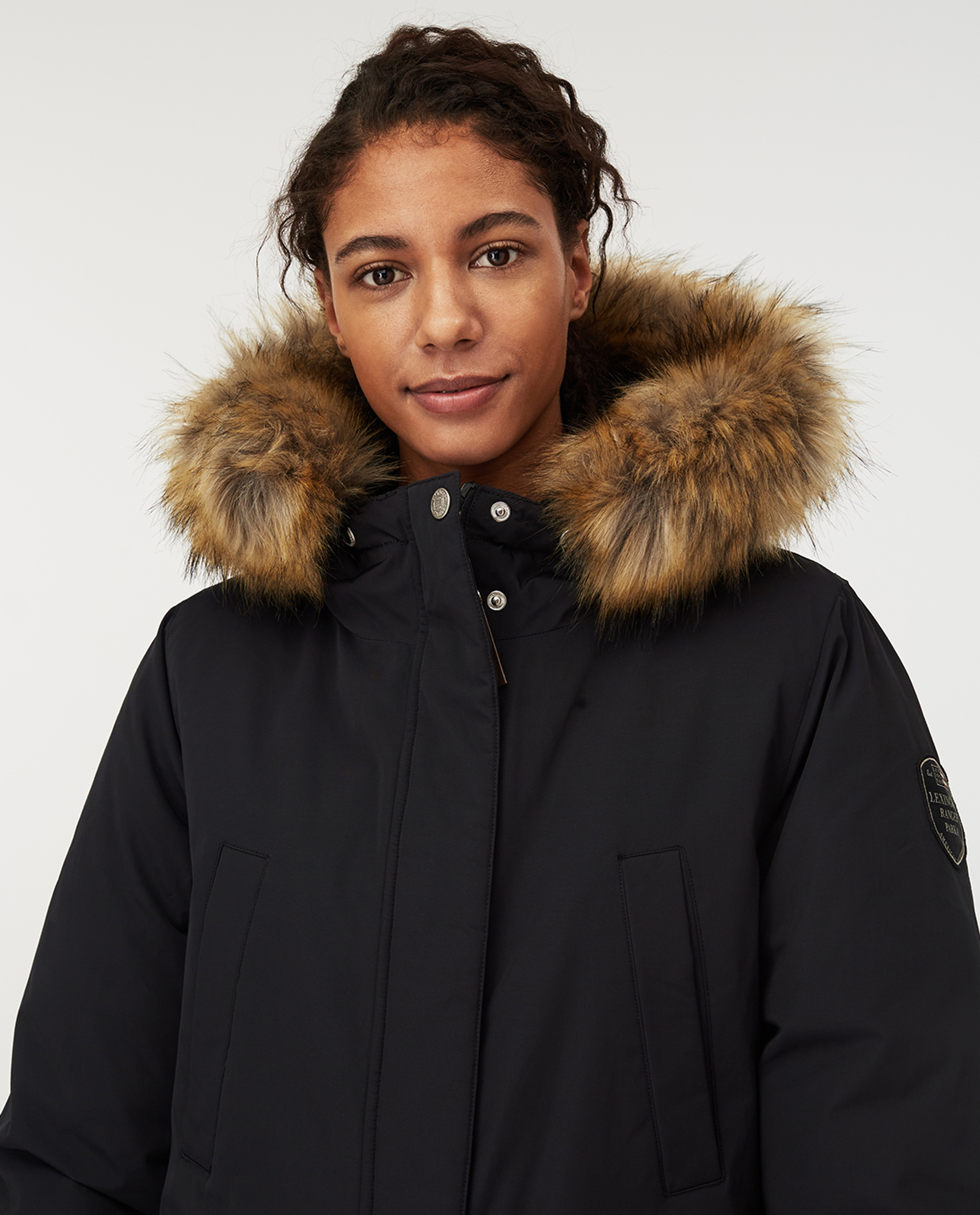 Pauline Down Parka, Black