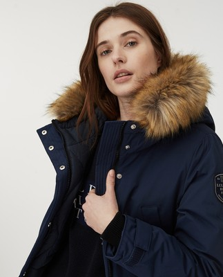 Pauline Down Parka, Dark Blue