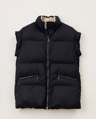 Petra Down Vest, Dark Blue