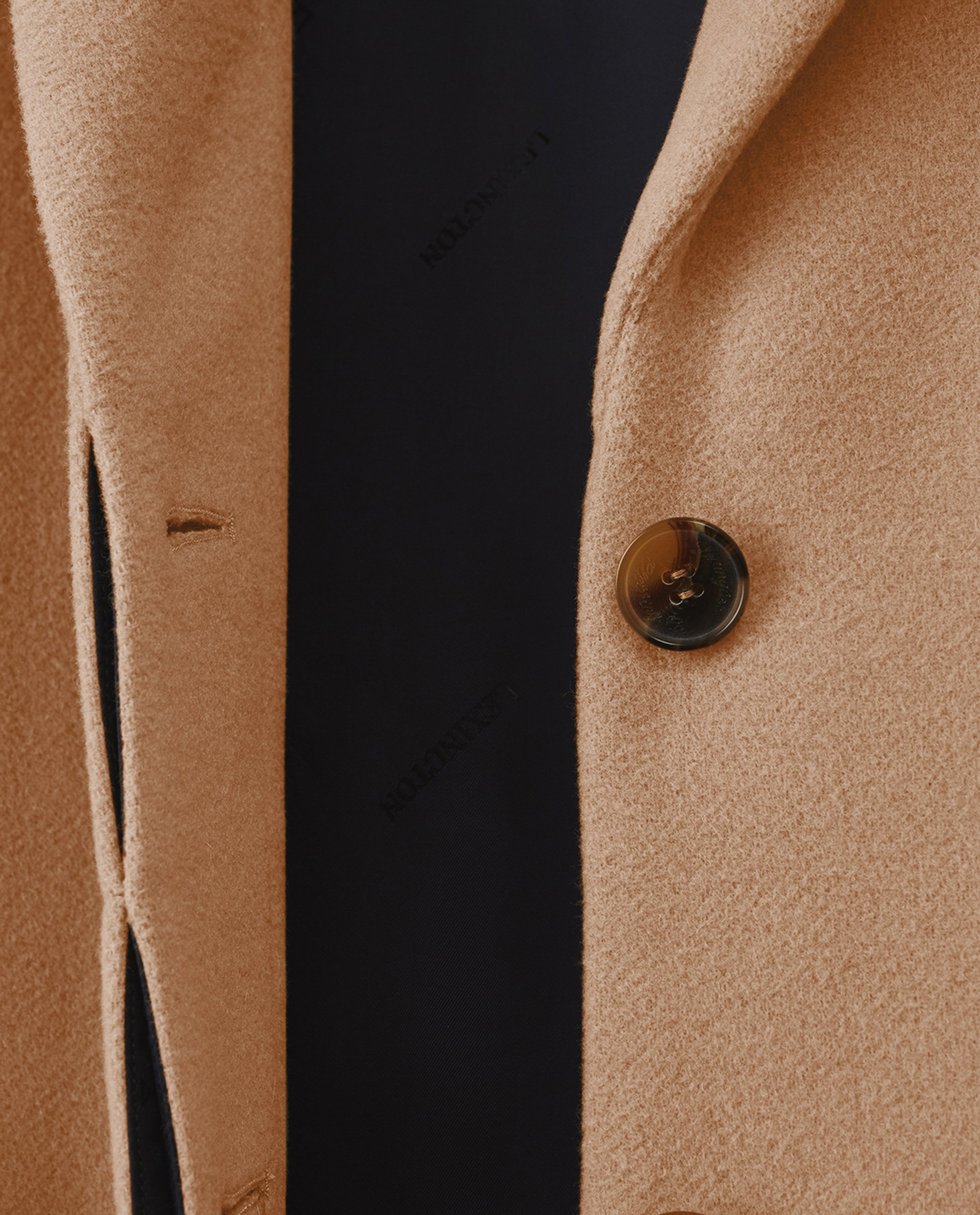 Heather Coat, Beige
