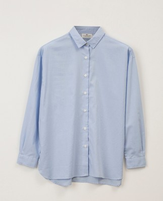 Edith Lt Oxford Shirt, Light Blue