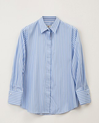 Misha Shirt, Blue/White