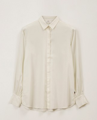 Isolde Lyocell Shirt, White