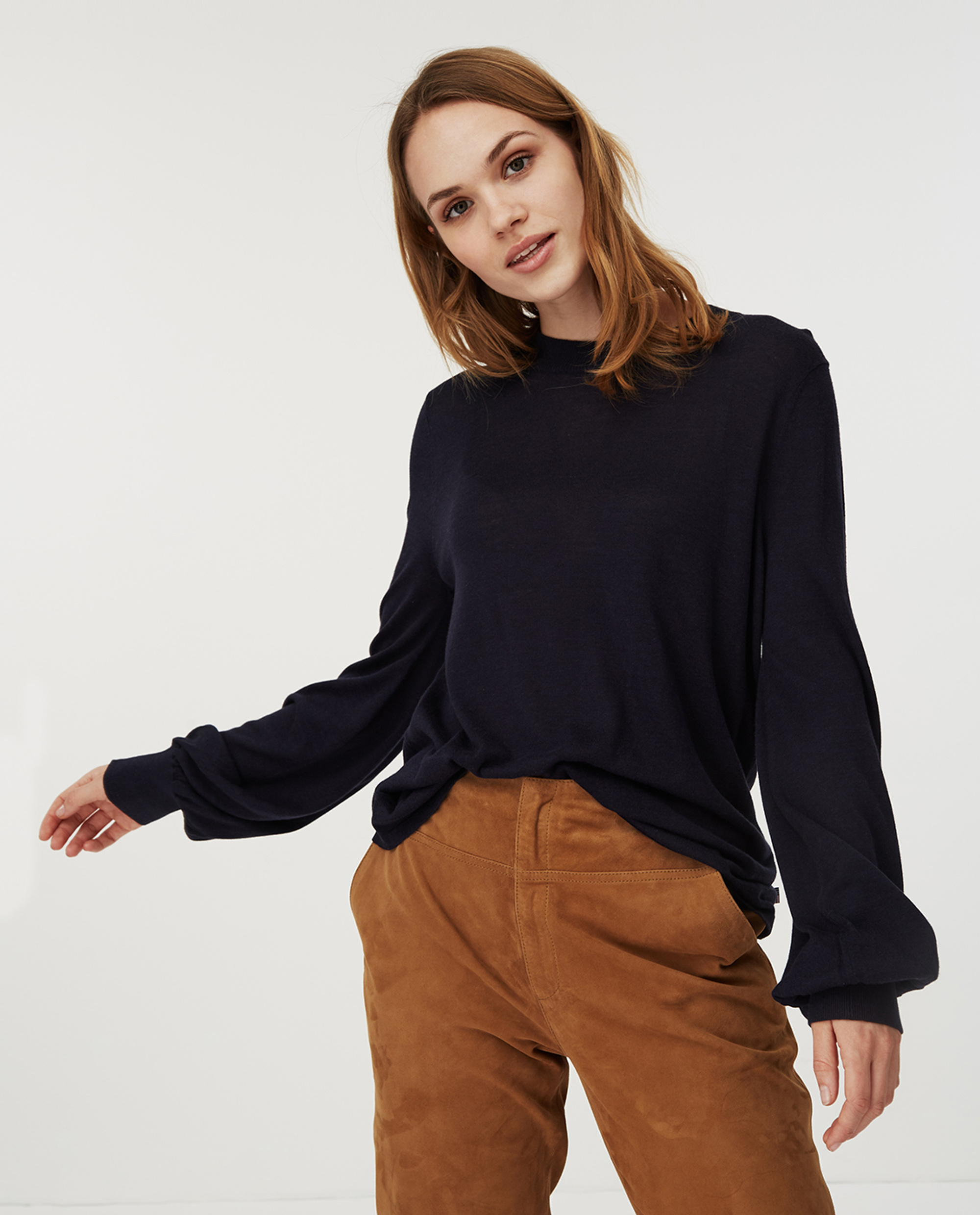 Sadie Sweater, Blue