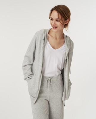 Des Knitted Track Pants, Light Grey Melange