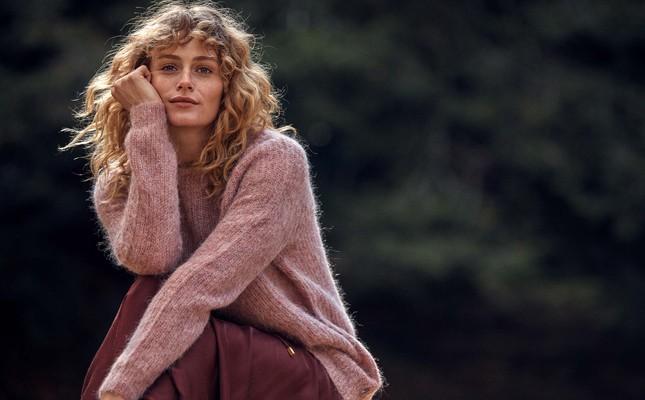 Siri Sweater, Pink Melange