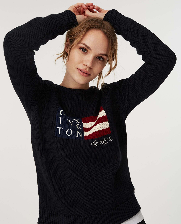Lova Sweater, Dark Blue
