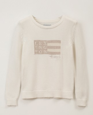 Lova Sweater, White